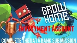 Grow Home PS4 TROPHY Investment Account - Complete the Data Bank sub mission