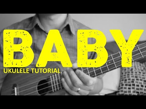 Baby - Justin Bieber - EASY Ukulele Tutorial - Chords - How To Play