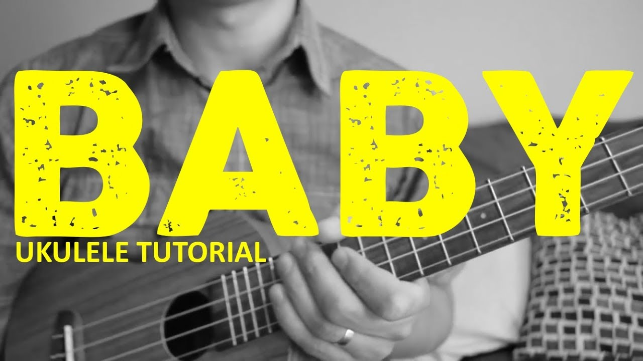 Baby Justin Bieber Easy Ukulele Tutorial Chords How To Play