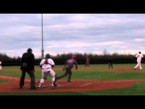 Davenport Baseball vs Olivet College game highlights