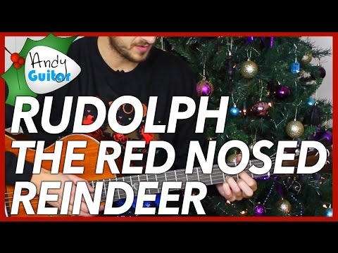 Christmas song #1 Rudolph The Red Nosed Reindeer on Guitar
