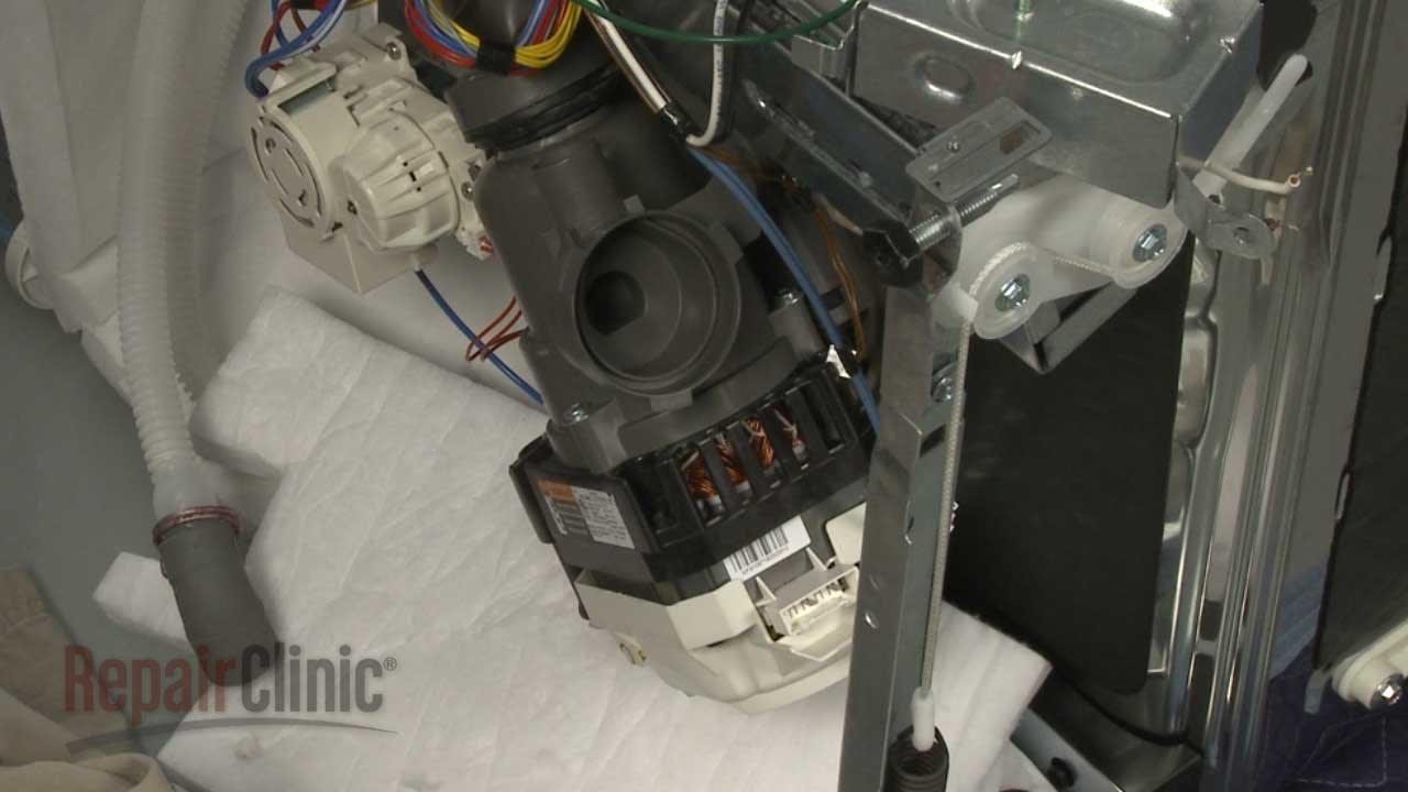 Kitchenaid Dishwasher Circulation Pump Replacement W10902589 Youtube