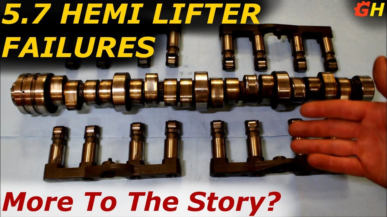 5 7 Hemi Lifter Failures Continued Youtube
