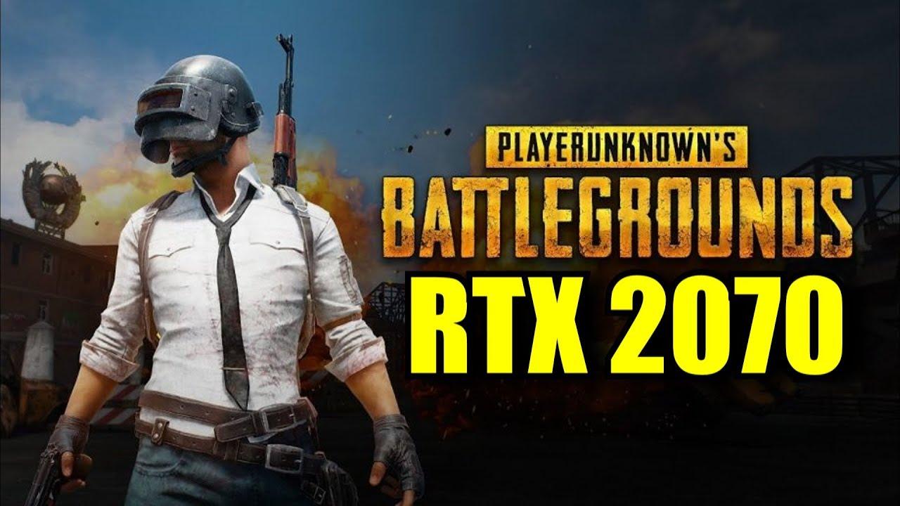 PlayerUnknown's Battlegrounds RTX 2070 OC | 1080p - 1440p | FRAME-RATE TEST