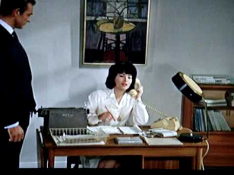 "Nice Secretary in White 2 / 2 Slow Motion "" Dr No """