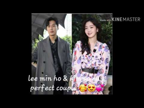 Lee min ho & kim go eun..perfect, sweet and loving couple..one mind set😍❤🥰
