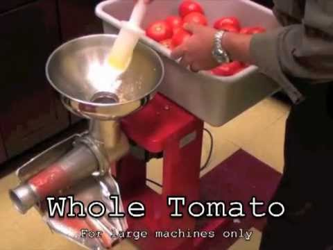 How To Use Tomato Milling Machine