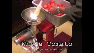 How To: Tomato Milling Machine