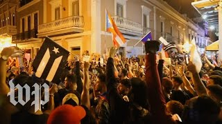 #RickyRenuncia: Protests against Puerto Rico's governor rage on