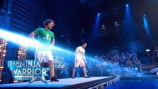 Team Ninja Warrior Germany | 1. LAUF - Daniel Hofer vs. Leslie Shum
