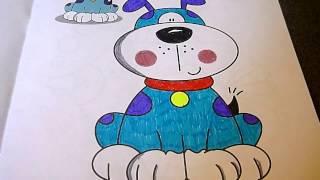 Собака Раскраска. Coloring dogs