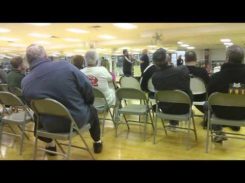 Self-defense seminar at the Riviera Sports Center & Health Club in Orland Park, Illinois