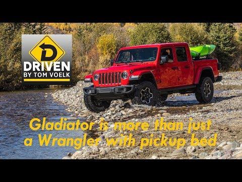 Driven! The 2020 Jeep Gladiator pickup
