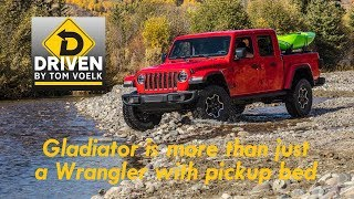 Driven! The 2020 Jeep Gladiator pickup