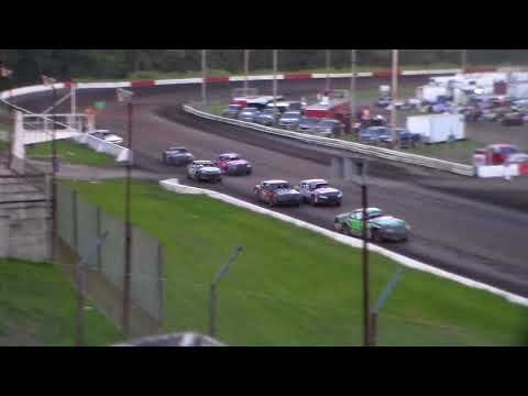 USRA Stock Car Heat 1 @ Hamilton County Speedway 08/23/17