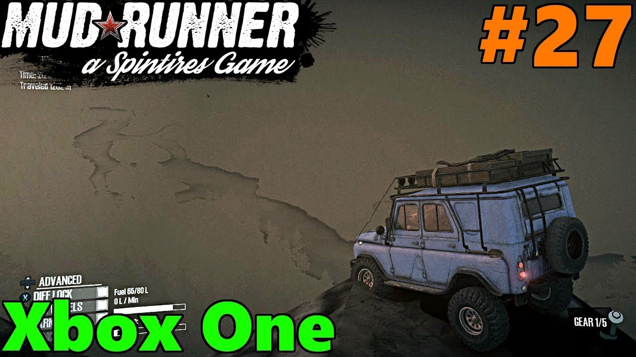 spintires mud runner xbox one let 39 s play part 27 on. Black Bedroom Furniture Sets. Home Design Ideas