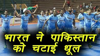 India crush Pakistan by 7 goal to 1 in FIH WORLD LEAGUE SEMI- FINALS ...