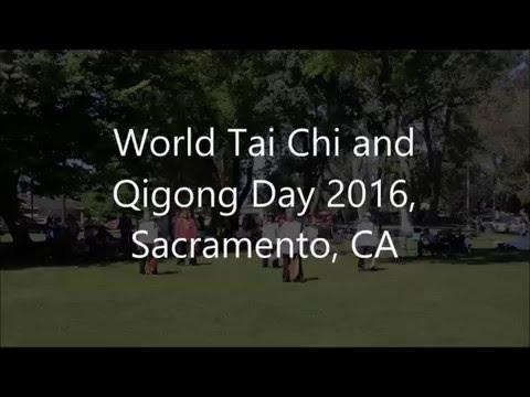 Yang Style Broadsword Demo at World Tai Chi and Qigong Day 2016