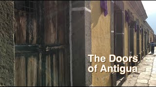Doors of Antigua