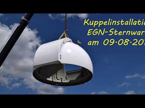 Kuppelinstallation EGN-Sternwarte