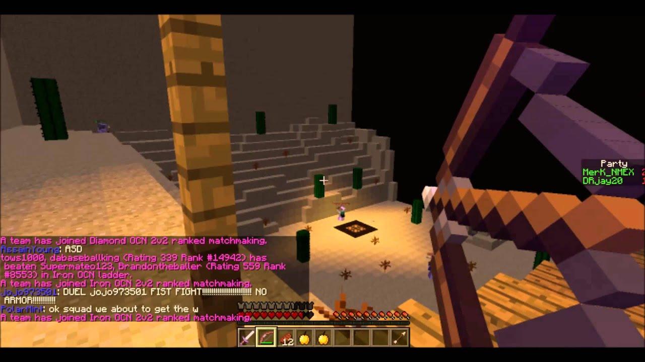 Minecraft matchmaking server