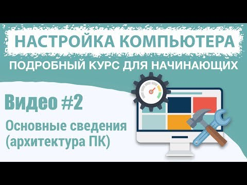 Видео #2. Основные сведения о компьютере (Архитектура ПК)