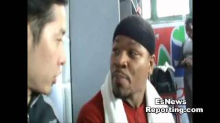 Manny Pacquiao Sparring Partner Showtime Shawn Porter: I