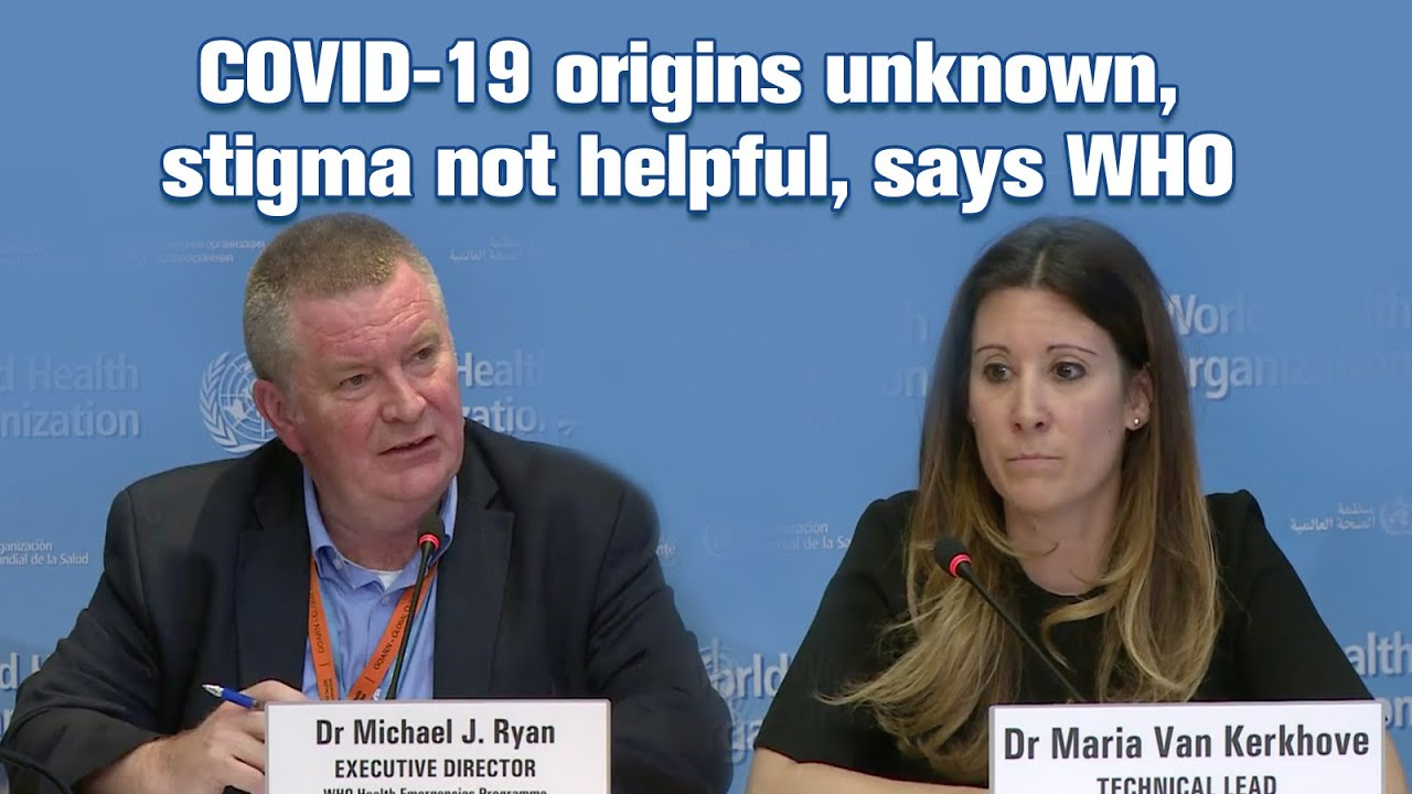 COVID-19 origins unknown, stigma not helpful, says WHO thumbnail