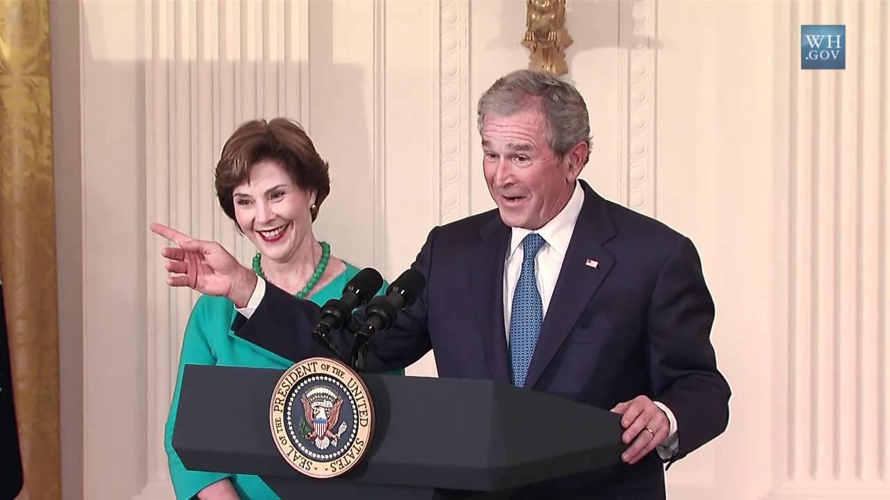 Download Unveiling the Official President Bush Portrait