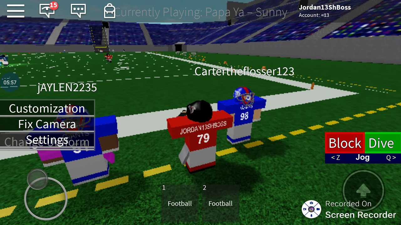 Roblox Legendary Football Practice And Doing The Glitch Part 2 Ft