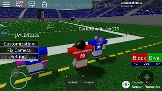 Roblox Legendary Football Practice And Doing the Glitch Part 2 ft. Eb_Boss