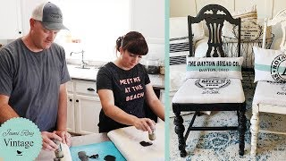 How To Paint Fabric With Stencils