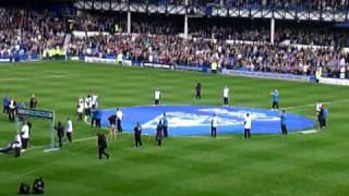 duncan ferguson introduction everton vs man city 7th may 2011