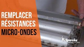 Comment réparer votre four à micro-ondes - Remplacer les résistances ?