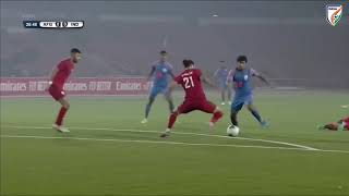 Afghanistan 1-1 India | FIFA World Cup Qatar 2022 & AFC Asian Cup 2023 Joint Qualifiers | Highlights