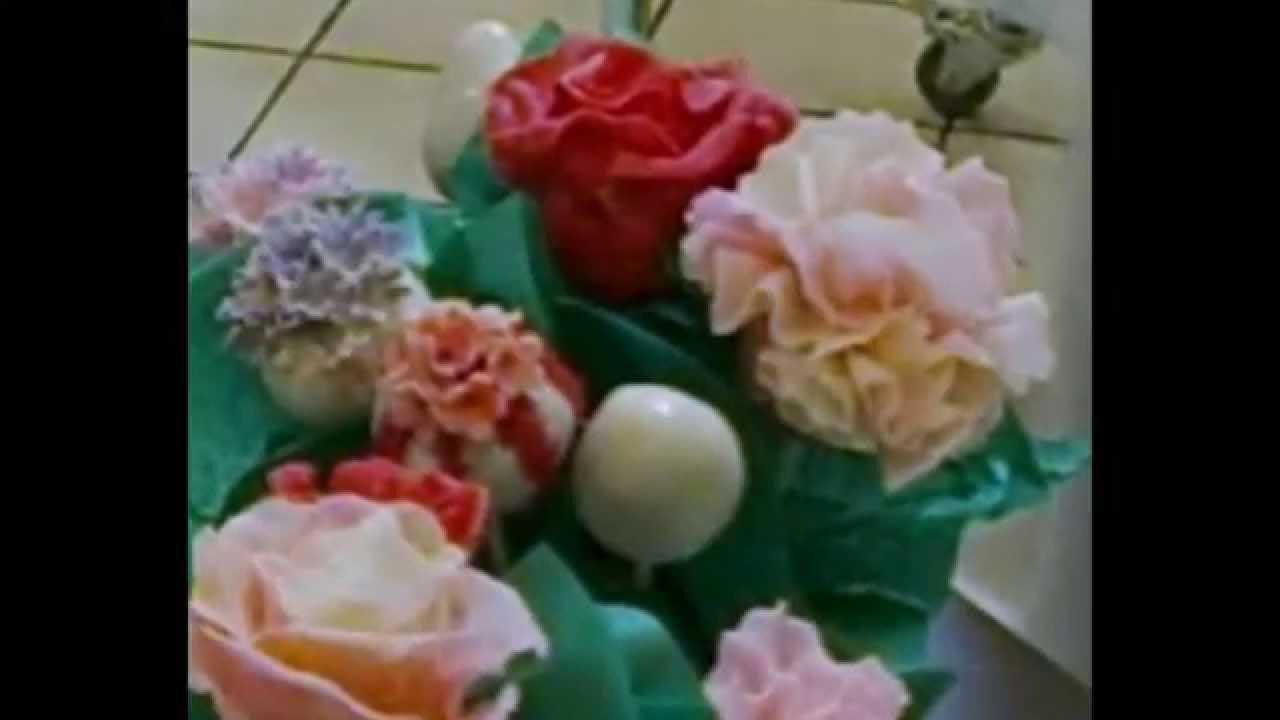 Edible Cake Pop Flowers Youtube