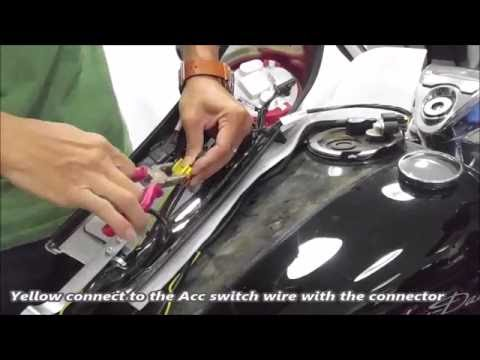 Tsukayu Fairing wire harness installation for RoadKing / Softail
