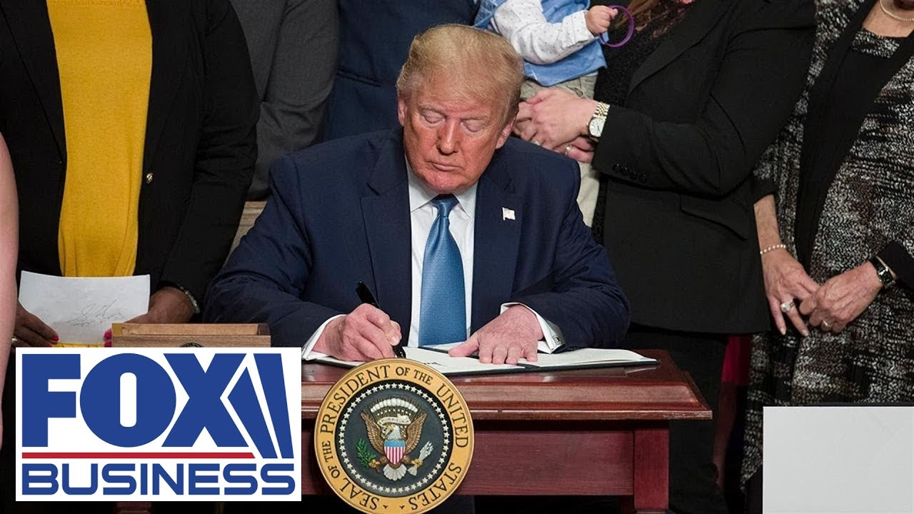 Moments Ago: Trump signs Supporting Veterans in STEM Careers Act - FOX Business