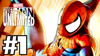 SPIDER-MAN UNLIMITED - Walkthrough Part 1 (iPhone Gameplay)