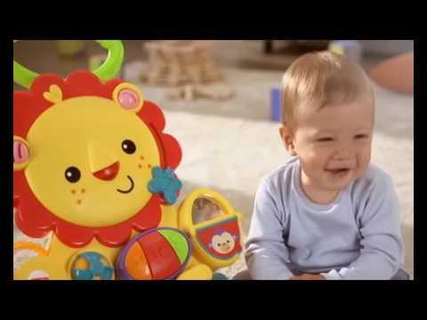 Andador Infantil Leão Musical Com Piano Sit & Play - Fisher-Price