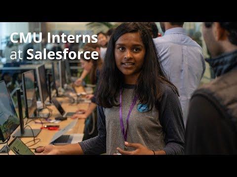Salesforce Demo Day Includes CMU Interns