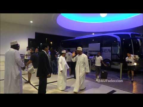 Celestes llegaron a Al Ain