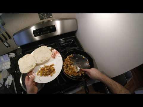 J Cooks - Egg & Cheese Sandwich