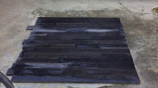 Time Lapse: Turn White Oak #Weathered Charcoal in minutes