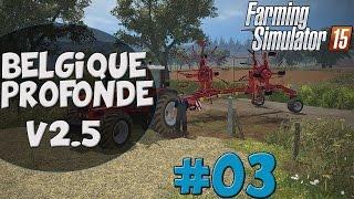 Farming Simulator 15 - Carrière Suivie - Belgique Profonde V2.5 - Multijoueurs - #3 FR HD 60FPS