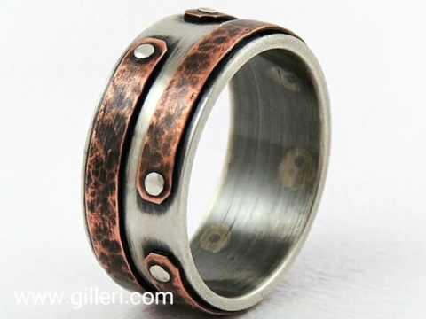Unique handmade rings by Gilleri Jewel