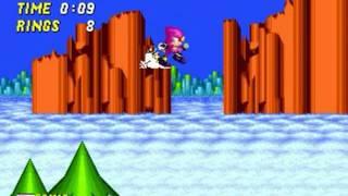 Espio in Sonic the Hedgehog 2 (Genesis) - Longplay