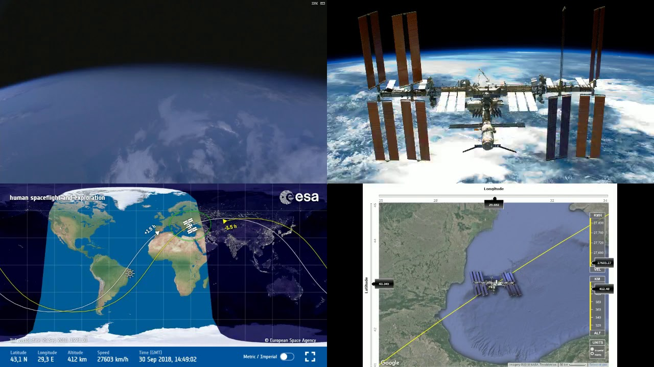 Evening africa and europe nasaesa iss live space station with map evening africa and europe nasaesa iss live space station with map 182 2018 09 30 gumiabroncs Images
