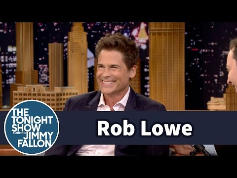 Rob Lowe Literally Loves The Grinder's Writing
