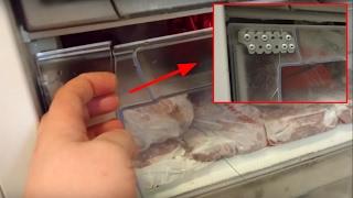 Ремонт висувного ящика в морозильнику Ariston